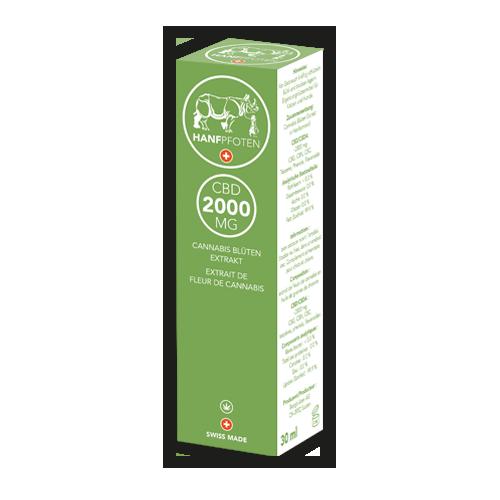 Hanfpfoten CBD Öl 2000 mg