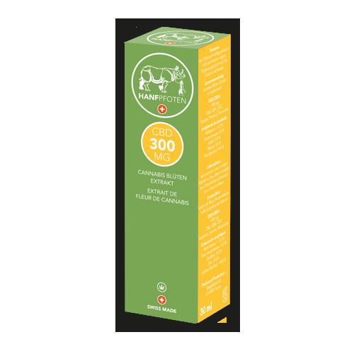 Hanfpfoten CBD Öl 300 mg