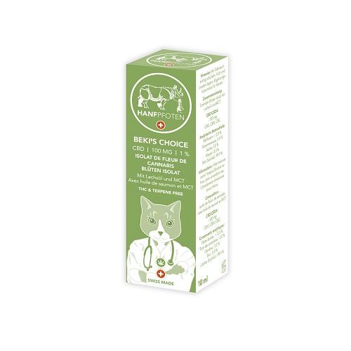 Hanfpfoten Cats BEKI'S CHOICE - 100 mg